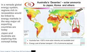 Missing Link For Solar Hydrogen Is Ammonia