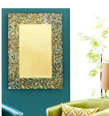 Crazy Mosaic Bathroom Mirrors Ocean Mosaic Mirrors Round Mosaic