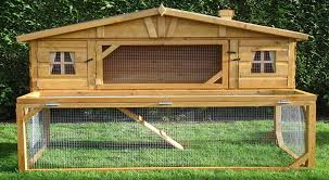 how to build a rabbit hutch step by