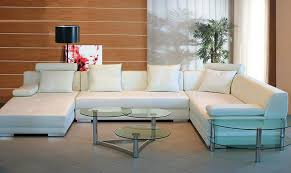 detalles acerca de modern white faux leather sectional sofa left special order soflex kansas