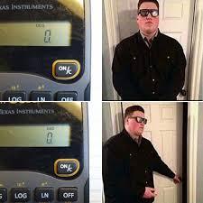 door bouncer meme calculator