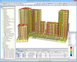 Rcc Building Design Software Free Download Concrete Structural Analysis Design Dlubal Software