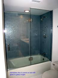 tub shower doors trackless shower doors tub shower doors trackless