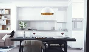 Cushion Flooring Kitchen Kitchen 10 Modern White Kitchens That Exemplify Refinement