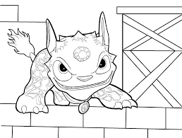 Skylander Coloring Sheet F7216 Coloring Pages To Print Coloring