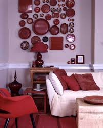 Orange Color Living Room Designs Red Rooms Martha Stewart