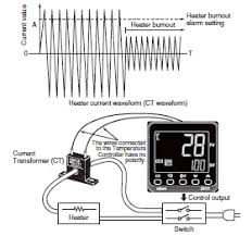 omron temperature controller wiring diagram wiring diagram when the temperature controller output is a cur heater burnout alarm cannot be