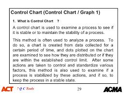 7 Qc Tools Control Charts 7 Qc Tools Training Material 1