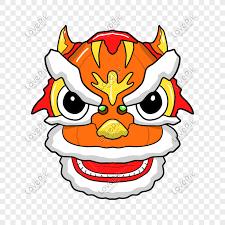 Yuk, ajak anak untuk membuat kreasi barongsai mini dari kertas. Chinese Wind Lion Head Cartoon Illustration Png Image Picture Free Download 611505083 Lovepik Com
