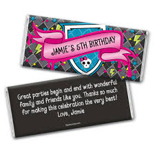 personalized chocolate bar wrappers fangtastic birthday personalized candy bar wrapper only