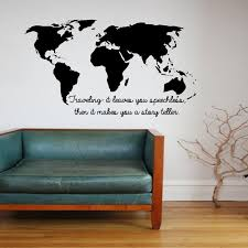 Small Picture Aliexpresscom Buy CaCar wall stickers Traveling It Leaves You