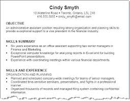 Skill Resume Example Technical Skill Examples For A Resume
