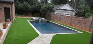 Artificial turf backyard Low Maintenance Nexgen Lawns Artificial Turf Products