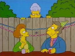 Resultado de imagen de los simpson seymour skinner y su madre