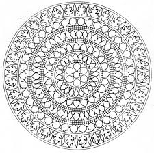 These Printable Mandala And Abstract Coloring