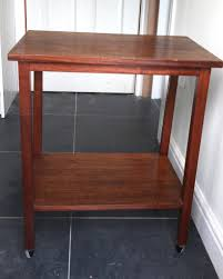 office tables on wheels. MAHOGANY BUTLERS TROLLEY/ OFFICE TABLE WITH WHEELS Office Tables On Wheels