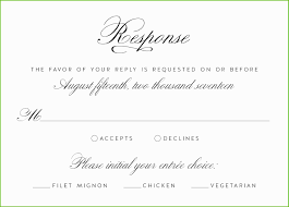 Wording Rsvp Card Wedding Invitations Sample Cards For