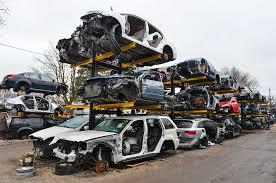 cantilever salvage yard storage rack