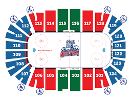 Xl Center Hartford Seating Chart With Rows Xl Center Online Ticket Office Hartford Wolf Pack V