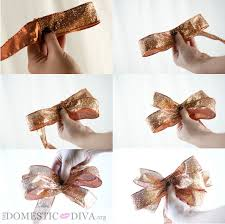 The Domestic Diva  DIY: Give Thanks Chalkboard Wall Plaque with Wire Ribbon  Bow (