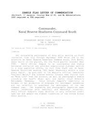 Commendation Letter Template Best Photos Of Example Letter Of Commendation Navy Commendation