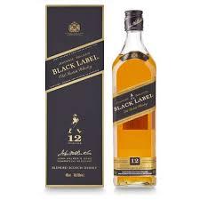 send johnnie walker black label old scotch whisky 70cl