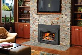 gas log fireplace for vs wood burning inserts