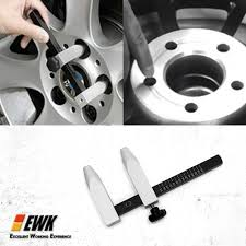 Bolt Pattern Gauge Mesmerizing Bolt Circle Wheel Lug Pattern Gauge With Slide Rule Fit 488484848 Lug