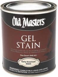 Gel Stain Old Masters