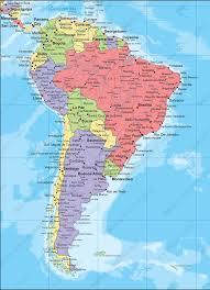 Digital Map South America Political 266 The World Of Maps Com