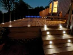 outdoor terrace lighting. Outside Lighting Ideas: Terrace Dotted With Spotlights Outdoor A