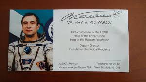 「1995 – Cosmonaut Valeri Polyakov returns to earth after setting a record of 438 days in space.」の画像検索結果