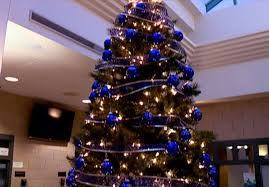 Sheriffs Office Installs Christmas Tree To Honor Officers
