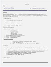 Resume Sample For Fresh Graduate Business Administration Resume Corner