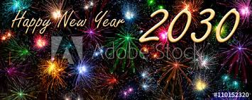 happy new year 2030. Brilliant 2030 Greeting Card  Happy New Year 2030 For L