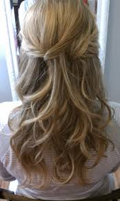 Wedding Half Up Hairstyles Bridal Hair Half Up Half Down Very Close To What I Want To Do