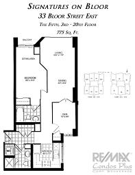 One Bedroom Balcony Suite Signature Signatures On Bloor Toronto Remax Condos Plus