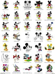 Embroidery Mickey Mouse Design Free Embroidery Designs Mickey Mouse 101 Free Embroidery