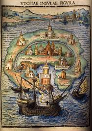 tmc puzzles over utopia book ii map of utopia from the 1516 edition