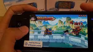MÁY CHƠI GAME CẦM TAY] - máy chơi game cầm tay psp x6/a10 trải nghiệm  dragonball - YouTube