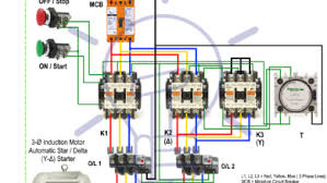 Type 2 Coordination Chart For Star Delta Starter L T Star Delta Starter Y Starter Power Control And Wiring