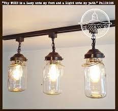 1500 x 1043 jpeg 218 кб. Rustic Mason Jar Track Light Of Vintage Quarts The Lamp Goods