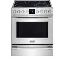 Professional Electric Ranges For The Home Shop Frigidaire Professional Smooth Surface Freestanding 5 Element