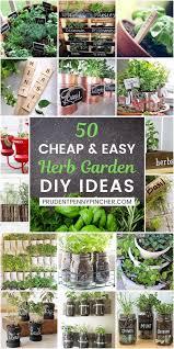 50 and easy diy herb garden ideas