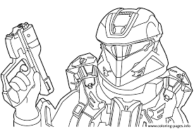 Small Picture free halo Coloring pages Printable