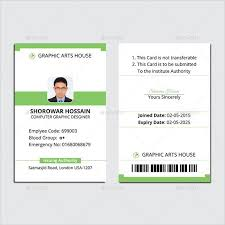 identity card template word id card template word choice image template design ideas