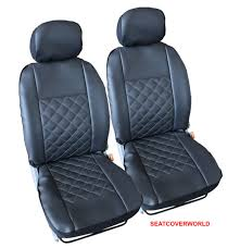 land rover leather look knightsbridge front seat covers defender discovery 2 3 4