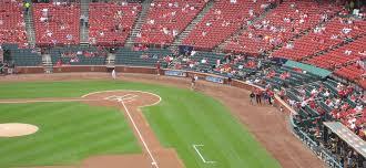 St Louis Cardinals Seating Guide Busch Stadium