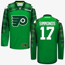 flyers green jersey wayne simmonds philadelphia flyers green st patricks day jersey