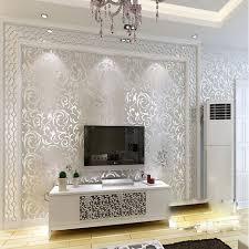 Silver Metallic Wallpaper Bedroom Bedroom I Love Wallpapertm Shimmer Damask Metallic Wallpaper Teal